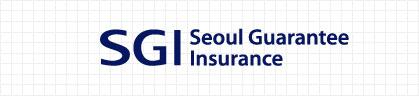 Logo Type : SGI Seoul Guarnatee Insurance